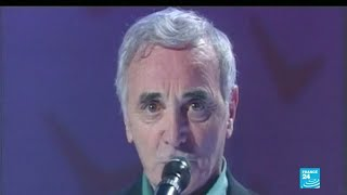 EN IMAGES - La carrière de Charles Aznavour, décédé à l'âge de 94 ans