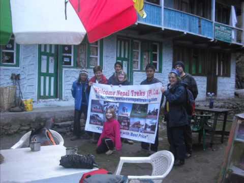 Trekking in Nepal  Nepal Trekking Agency  Nepal Treks Company.wmv