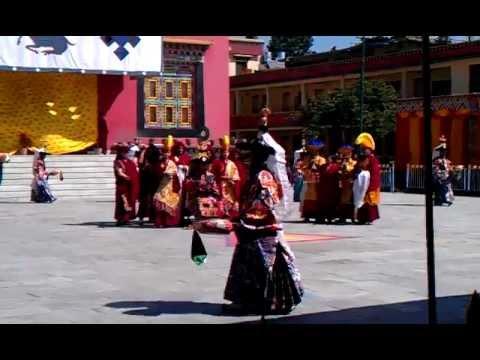 Cham dance for Losar at Sechen Monastery, Boudha, Kathmandu, Nepal – February 2012 – 1/3