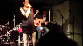 Simoon de Wit cover 'Amy Winehouse - Stronger Than Me' zang tentamen Rock Academie 2010