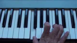 How to play Crickets on piano - Drop City Yacht Club ft. Jerimih