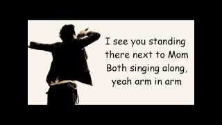 The script - If you could see me now lyrics