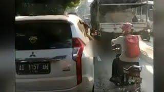 Viral! Video Mahasiswa Tembak Pengendara Motor di Solo