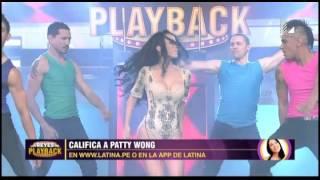 Patty Wong derrochó sensualidad en este playback