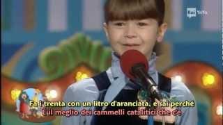 Il katalicammello - Lo Zecchino d'Oro 1997 - con sottotitoli