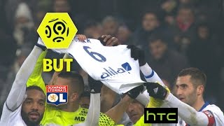 But Mathieu VALBUENA (43') / Olympique Lyonnais - Olympique de Marseille (3-1) -  / 2016-17