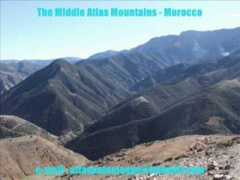The Middle Atlas Mountains – Morocco Maroc – مناظرطبيعية من المغرب