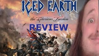 iced earth the glorious burden review