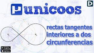 Imagen en miniatura para Rectas tangentes interiores a dos circunferencias I