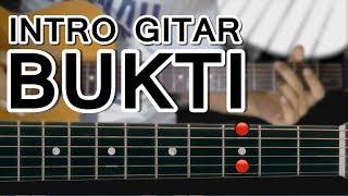 Belajar Gitar Virgoun - Bukti Petikan Intro (mudah dengan gambar/animasi)