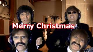A Christmas Message From The Beatles and George Martin