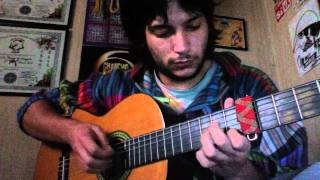 O son do ar - Luar na lubre, cover solo guitarra.