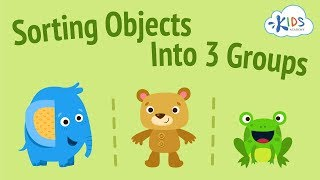 Sorting Objects into 3 Groups