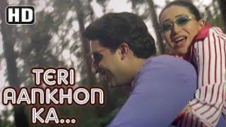 Teri Aankhon Ka Andaaz | Haan Maine Bhi Pyaar Kiya | Abhishek Bachchan | Karishma Kapoor| Filmigaane width=