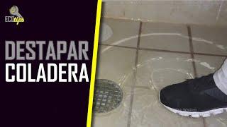 Como destapar una coladera de ducha