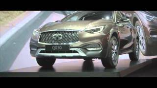 The New Infiniti QX30 at the GMS 2016