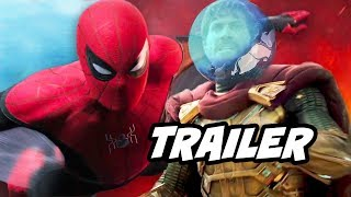 Spider-Man Far From Home Trailer - Avengers Endgame and Mysterio Easter Eggs Breakdown