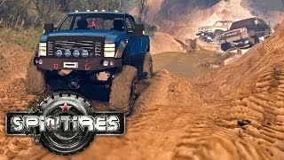 SpinTires MP Unedited - Ford, Chevy, and Dodge (Mod)