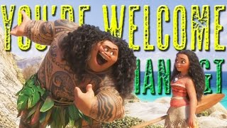 Moana/Vaiana - You're Welcome (Russian Subs+Trans)