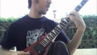 The Black Dahlia Murder - Nocturnal [guitar cover]