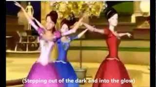 Barbie En Las 12 Princesas Bailarinas  -  Shine (con letra)