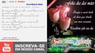 MÃE - PLAYBACK MIDI - RICK E RENNER