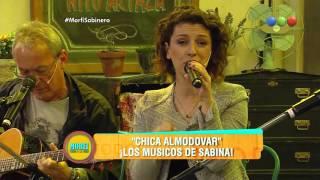 """""""Chica Almodovar"""", Los músicos de Sabina en vivo - Morfi"""