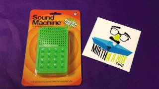 Sound Machine- Funny Cartoon Sound Effect Special