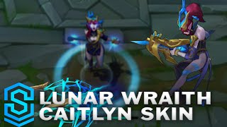 Lunar Wraith Caitlyn Skin Spotlight - League of Legends