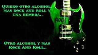 Alcohol y Rock and Roll (con Letra)  - Cuca (rock en espanol)