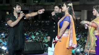 Khesari Lal Yadav, Kajal Raghwani, Dinesh Lal Yadav & Aamrpali dubey  - Perfomance At Borivali... width=