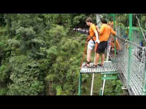 Bungy Jumping on Utopia Himalaya summer 2012 camp ( Y. Bayoumy )