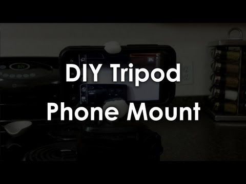 DIY Tripod Phone Mount - Maker Guide Episode 4