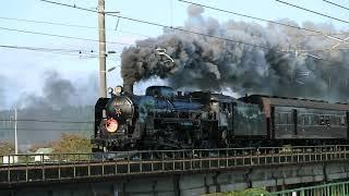 SLこまち号 秋田新幹線こまちに追い抜かれる。