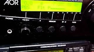 7355kHz Radio Prague English, their final broadcasting on SW