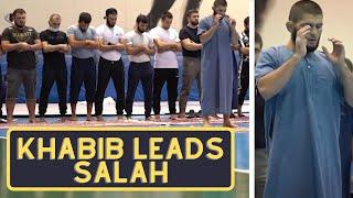 KHABIB LEADS SALAH - UNSEEN FOOTAGE