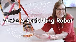 How to Make a Scribbling Robot | Do Try This at Home | At-Bristol Science Centre