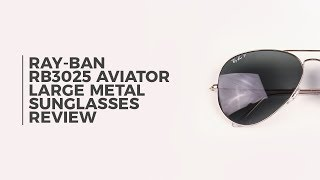 df0392977c38 Please activate Adobe Flash Player in order to use Virtual Try-On and try  again. Ray-Ban RB3025 Aviator Large Metal Polarized 003 59. video