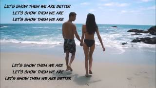 The Chainsmokers - Paris | Lyrics on Screen