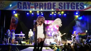 "Tina Turner  ""Simply the best"" By KINISHA -  Gay Pride Sitges 2016"