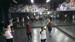 Choreography by Maxim Kovtun (Problem: Keep on Pushin) 2