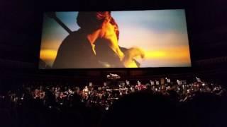 Titanic Live - Royal Albert Hall - I'm Flying scene