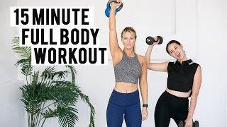 15 minute Full Body Workout | Aja Dang x Laura Varney