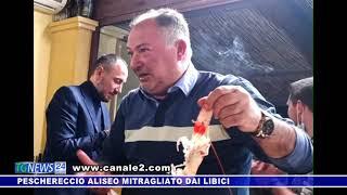 PESCHERECCIO ALISEO MITRAGLIATO DEI LIBICI