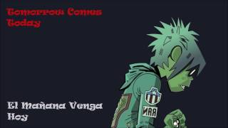 Gorillaz - Tomorrow Comes Today (Letra Español/English)