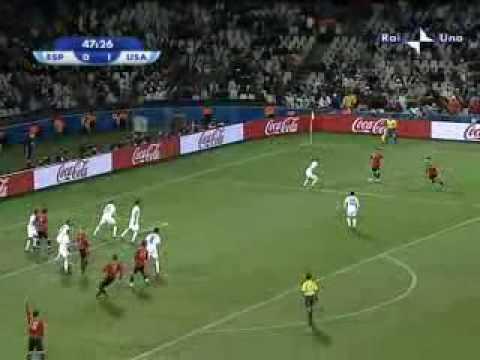 USA – Spagna 2-0 del 24.06.09 Confederations Cup