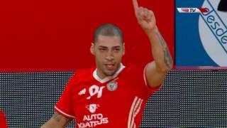 Liga Sport Zone, 1.ª jorn.: Benfica 7-1 Futsal Azeméis