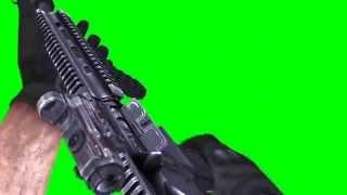 Green Screen Battlefield HK416 Shoot First Person SFX - Footage PixelBoom