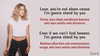Stand By You - Rachel Platten (Lyrics video dan terjemahan)