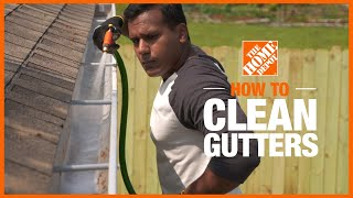 Lean how to clean gutters in a few easy steps.